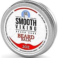 El bálsamo para la barba con acondicionador sin enjuague - Estilos, fortalece y espesa para un crecimiento más saludable de la barba, mientras que el aceite de argán y la cera aumentan el brillo y mantienen la espuma suave de 2 oz