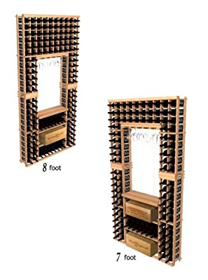 Winemaker Series Individual Tasting Center with Case Storage