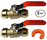 1/2 Ball Valve 22222-0000LF with Disconnect Clip
