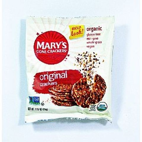 Mary's Gone Crackers Organic Crackers - Original (Pack Of 50)