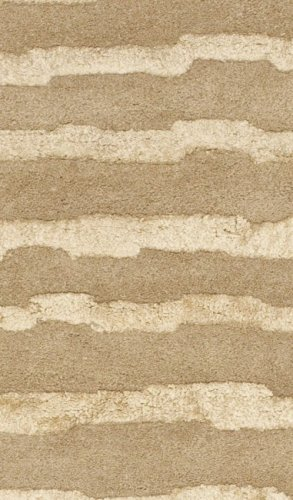 Cheap Safavieh Soho Collection SOH519B Handmade Beige and Gold Premium Wool Area Rug (9'6″ x 13'6″)