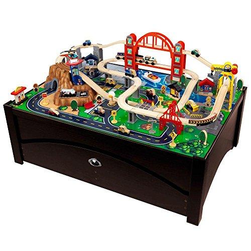 Metropolis Train Table and Train Play Set