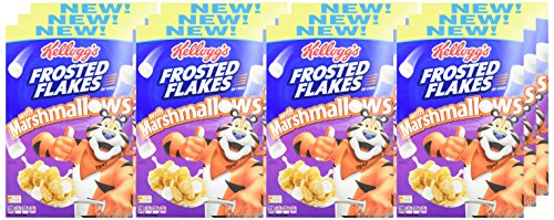 Kellogg's Breakfast Cereal, Frosted Flakes with Marshmallow, 13.6 oz Box(Pack of 12) by Kellogg's (Image #1)