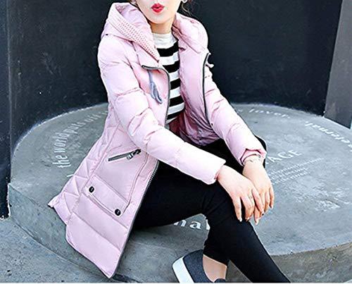 Donne Prodotti Piumino Colore Confortevole Puro Moda Rosa Durevole Battercake Casuale Donna Cappotto Autunno Plus Hot Giubotto Outerwear Cappotti Addensare Invernali Giacca Piumini Giovane eH9IWYEDb2