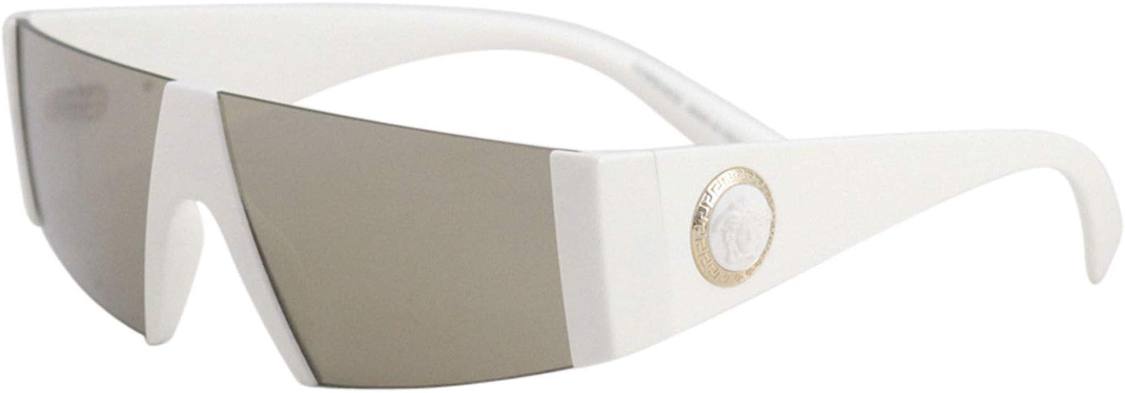Versace 0VE4360 Gafas de sol, White, 45 para Hombre: Amazon ...