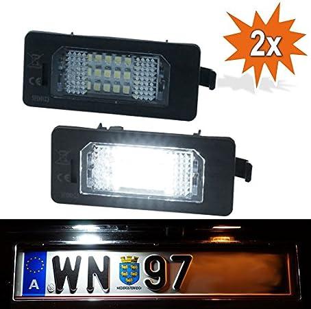 Do Led 135x Led Kennzeichenbeleuchtung Xenon Weiss Mit E Prüfzeichen Auto