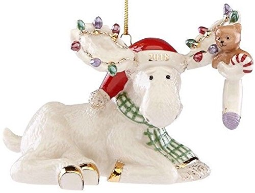Lenox 2018 Marcel's Christmas Stocking Moose ()
