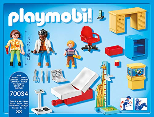 PLAYMOBIL PLAYMOBIL-70034 Starterpack Consulta pediatra, Multicolor (70034) 6