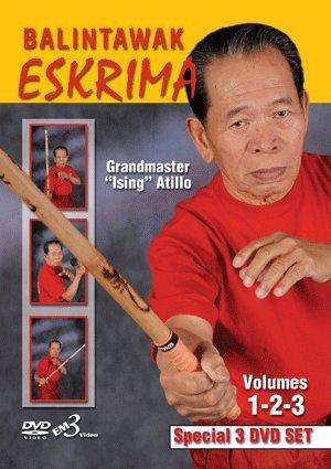 """Master Eskrima (Grandmaster """"Ising"""" Atillo Eskrima Balintawak Arnis Kali DVD Set)"""