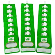 Disposable Baby Food Pouches (24ct) - Make Your Own 6 Ounce Squeezies - Works with all Fill Stations including Infantino