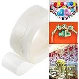 Calistouk 100pcs colla DOT foil palloncini foto matrimonio festa di compleanno palloncini colla