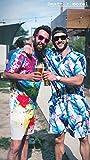 Men's Gay Pride Rompers Guys One Piece Short Sleeve