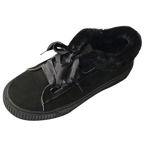 Zapatos de algodón con Cordones Warm Snow Wild Flat-with Shoes LILICAT® Casual más