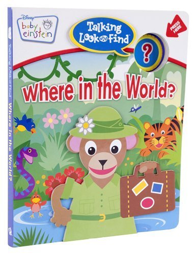 Talking Look and Find: Baby Einstein, Where in the World?