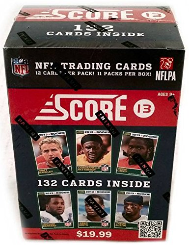 2013 Score Football Trading Cards NFL Unopened Sealed Box - Search for Autos