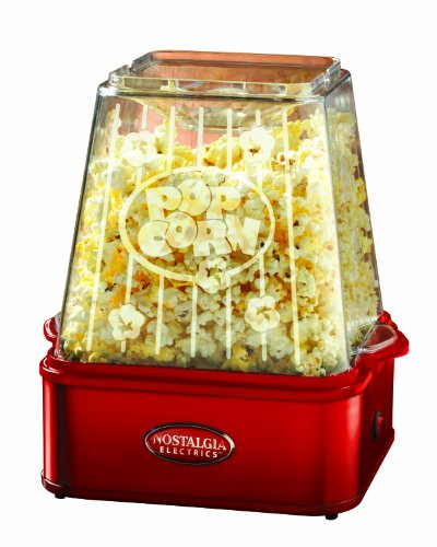 UPC 082677307231, Nostalgia Electrics TPM-100RED 6-Quart Stirring Theater Popcorn Maker, Red