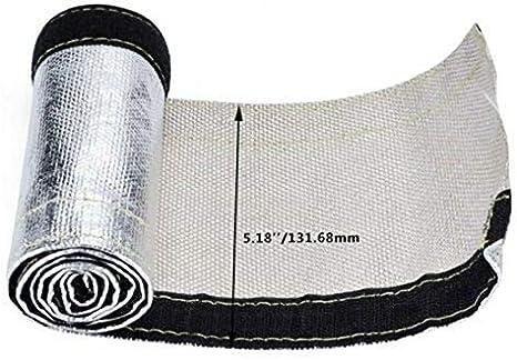 Yanggradel Thermo Hitzeschild 1 M Isolierung Metall Hitzeschild Schlauch Schutzabdeckung Auto
