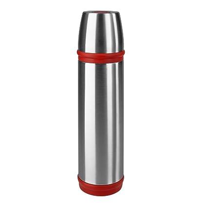 Amazon.com: Emsa Capitán Termo, acero inoxidable/rojo, 0,5 l ...