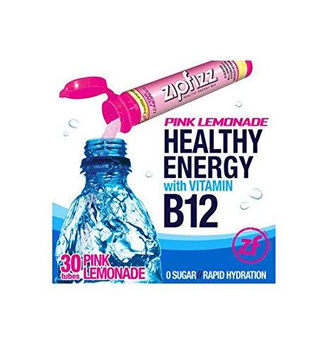 Zipfizz Pink Lemonade Healthy Energy Drink Mix, 30 Tubes ()