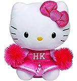 Hello Kitty - Peluche animadora, 28 cm, color rosa (TY 90147TY)