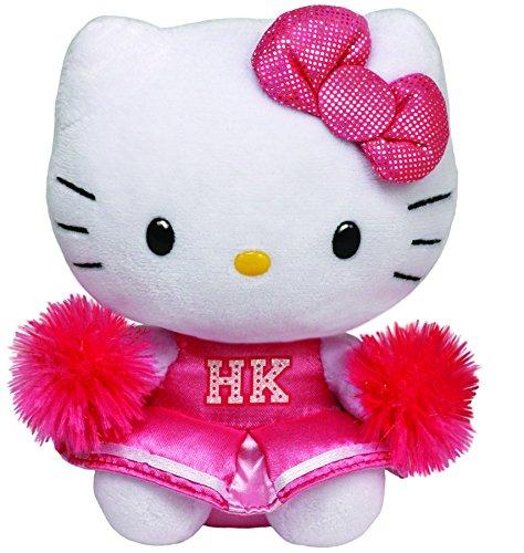 Ty Beanie Babies Hello Kitty Plush, Cheerleader, Medium