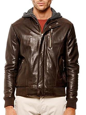 c232791fbd Arturo - Blouson Cuir Homme Arturo richy Couleur - marron, Taille Homme -  XXL: Amazon.co.uk: Clothing