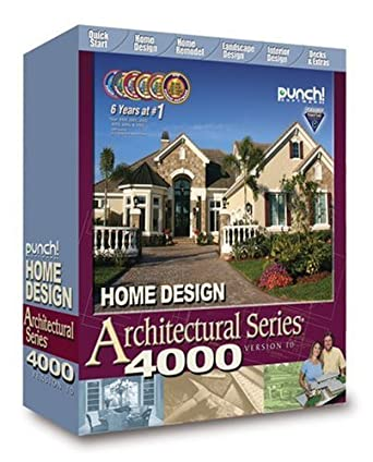 Amazon.com: Punch! Home Design Architectural Series 4000 v10: Software