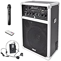 Pyle Pro Outdoor Indoor Portable PA Stereo Sound System...
