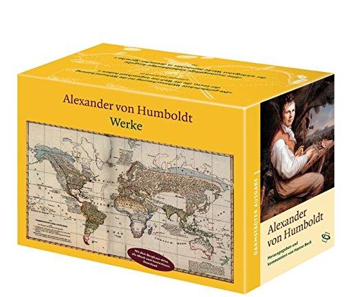 Alexander v. Humboldt - Werke. Darmstädter Ausgabe, 7 Bde. in 10 Tl.Bdn.