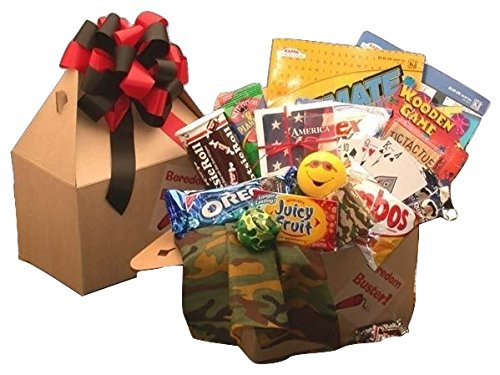 Fun, Games and Snacks Gift Box - Medium - Will send to APO's