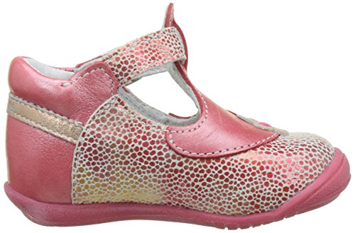 GBB Philomel - Zapatos de primeros pasos Bebé-Niños Rouge (Vte Corail Dpf/Kezia)