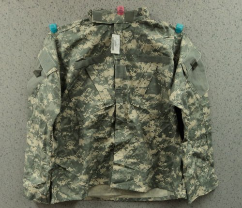 Acu Digital Camo Short (American Apparel ACU Digital Camo Jacket, Size Large/Short)