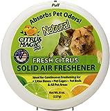 Citrus Magic Pet Odor Absorbing Solid Air Freshener, Fresh Citrus, 8-Ounce (Pack of 3)