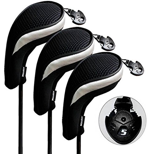 andux-3-pack-andux-golf-hybrid-club-head-covers-interchangeable-no-tag-mt-hy06-black-silver
