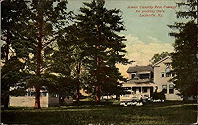 Jennie Cassidy Rest Cottage for working girls Louisville, Kentucky Original Vintage Postcard