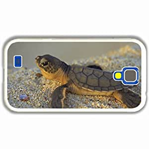 Samsung Galaxy S4 i9500 Cases Customized Gifts stones turtle small sea White Hard PC Case