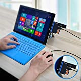 USB3.0 HUB Adapter with SD/Micro SD Card Reader for