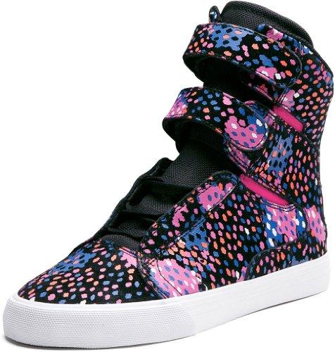 Supra Donna WMNS SOCIETY scarpe da ginnastica alte nero Size: 41
