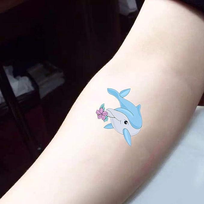 Happyyami etiqueta engomada del tatuaje a prueba de agua patrones ...
