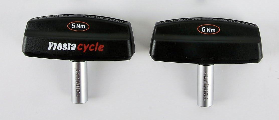 8 Nm 6 Nm 5 Nm 7 Nm Auswahl: 4 Nm Prestacycle TorqKey T-Griff voreingestelltes Drehmoment-Werkzeug 12 Nm 10 Nm