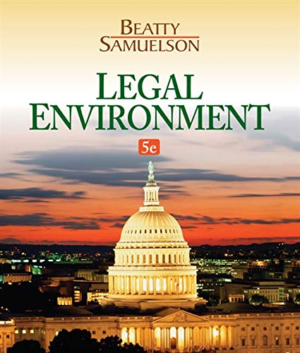 Legal Environment (The Study Of Law And Legal Philosophy)