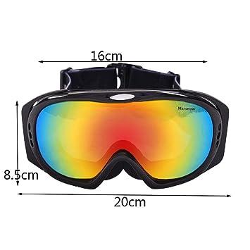 Gafas de esquí Gafas de esquí: TPU/PC, antivaho Doble, Lentes polarizadas