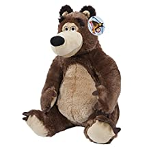 Masha And The Bear - The Bear 20cm Soft Toy