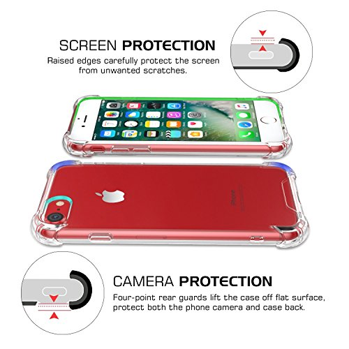 We could not find any products for: iPhone 5S/5SE 5GHülle KAMALSTAR® Schutzhülle Schlagfesten Stoßstangen Case Silikon- Crystal Clear Ultra Dünn Durchsichtige Backcover Handyhülle [High Pro Shield] TP