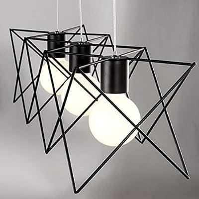 WinSoon Industrial Mini Edison Ceiling Pendant Light Style Bar Loft Metal Cage Art Painted Finish 1pc Light