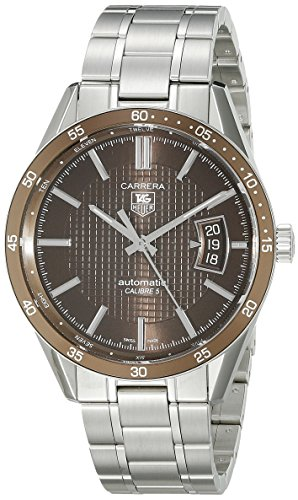 TAG Heuer Men's WV211NBA0787 Carrera Aluminum Bezel Watch