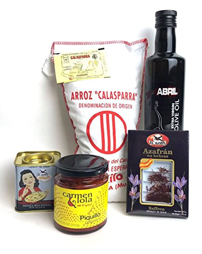 Price comparison product image Carmen & Lola Traditional Paella Kit Ingredients