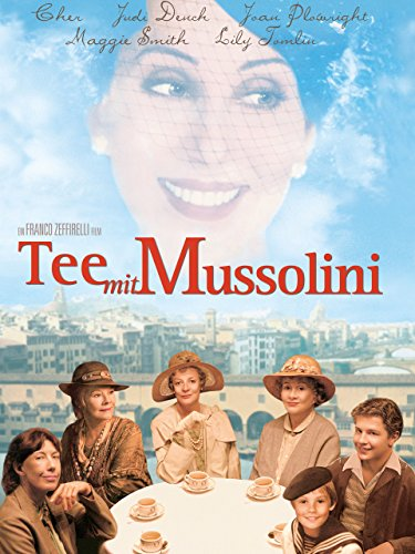 Filmcover Tee mit Mussolini