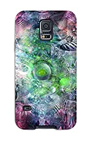 Protection Case For Galaxy S5 / Case Cover For Galaxy(psychedelic) ETGVAHHOEK99A2QH