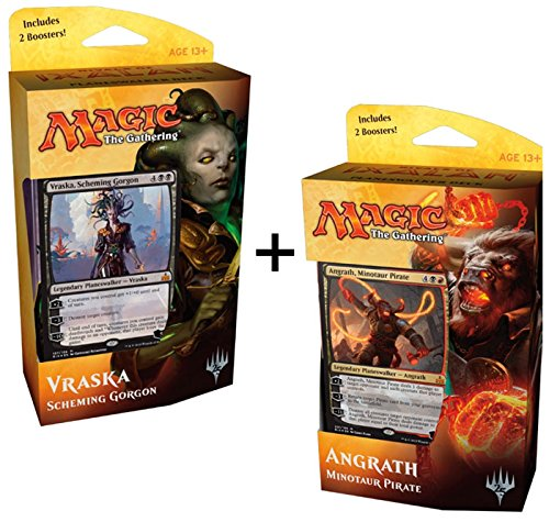 Magic-the-Gathering-MTG-BOTH-Rivals-of-Ixalan-Planeswalker-Decks